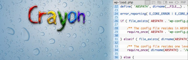 crayon syntax highlighter plugin for WordPress coders and developers