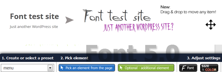 Font WordPress plugin to add custom fonts without coding