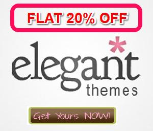 Elegant themes discount coupons