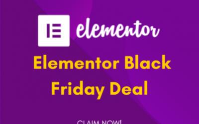 Elementor Pro Black Friday Deal 2021: Get 60% OFF [Mega Sale]