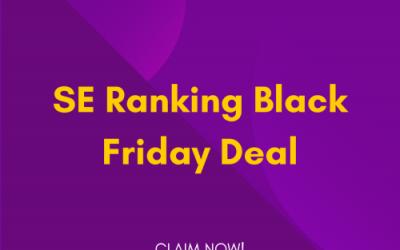SE Ranking Black Friday Deal 2021: Get 60% OFF