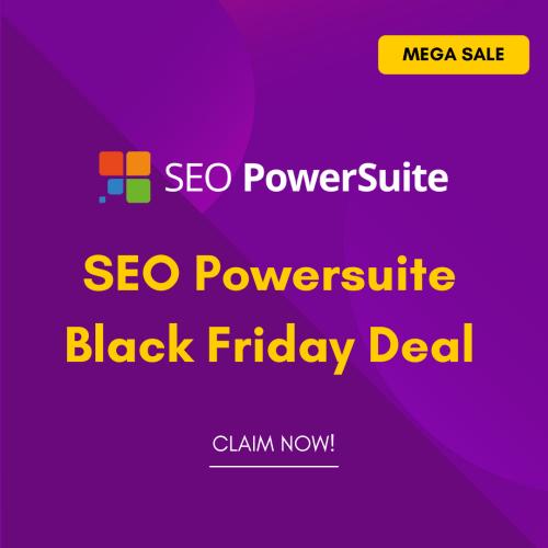 SEO Powersuite Black Friday Deal