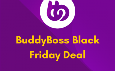 BuddyBoss Black Friday Deal 2021: Get 60% OFF on All Plans [Verified]