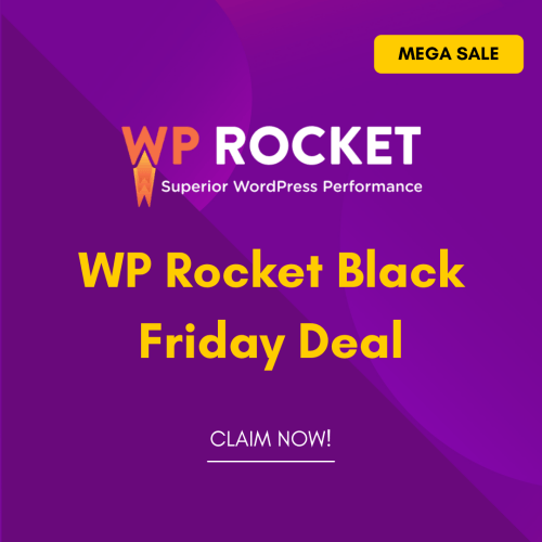 WP Rocket Black Friday Deal 2021